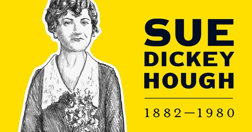 Sue Dickey Hough.
