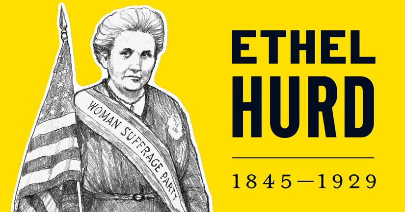 Ethel Hurd.