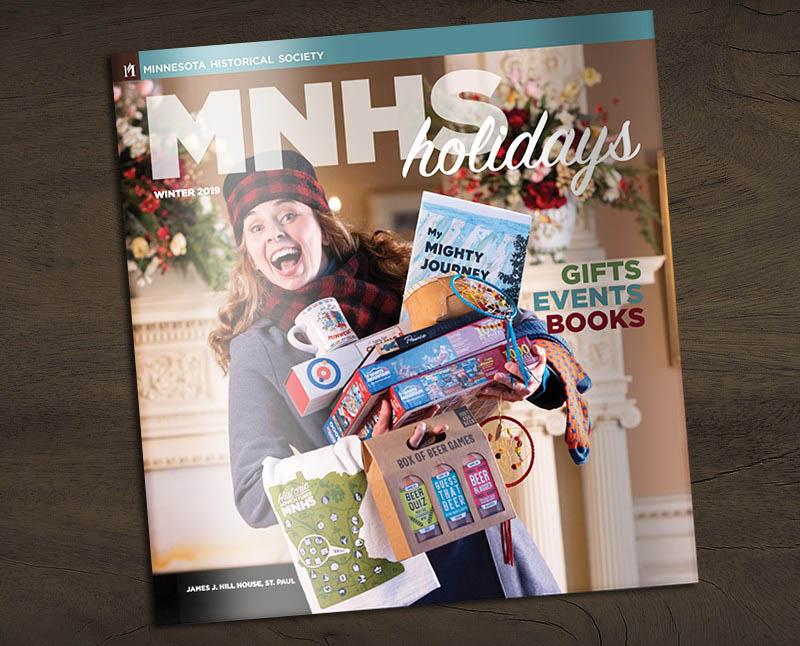 Peruse the magazine.