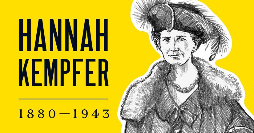 Hannah Kempfer.