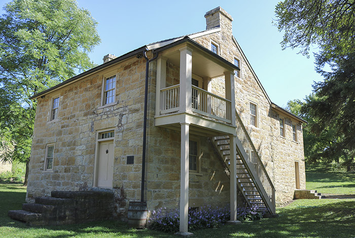 Sibley House Historic Site, present-day.