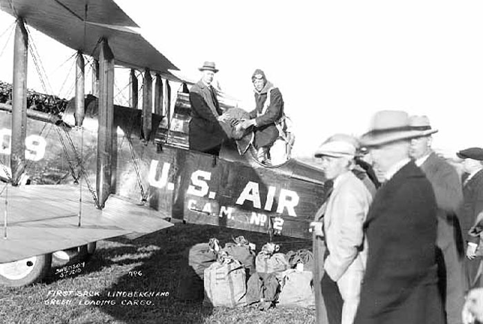 Army and airmail.