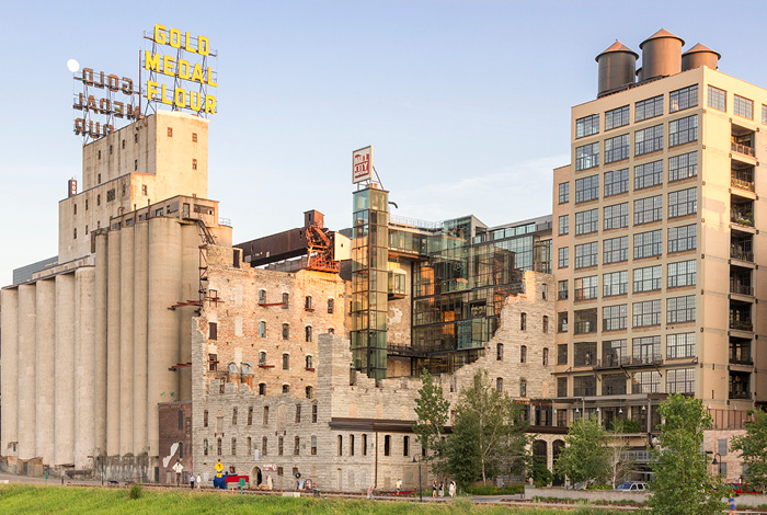 Mill City Museum.