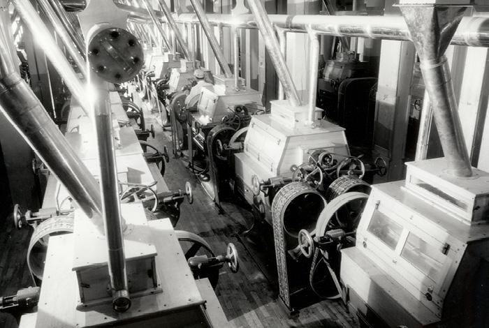 Minneapolis flour milling boom.