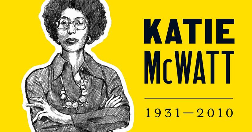 Katie McWatt.