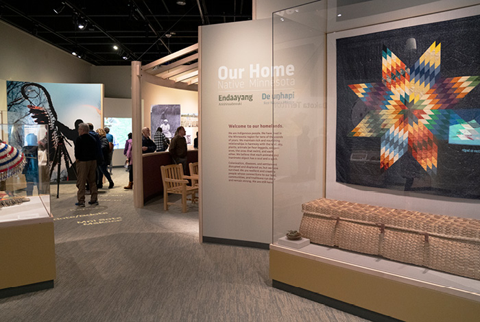 Our Home: Native Minnesota exhibit