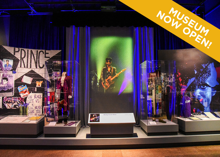 View of First Avenue Exhibit at the Minnesota History Center.