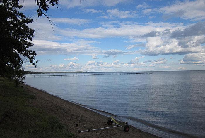 Lake Mille Lacs.