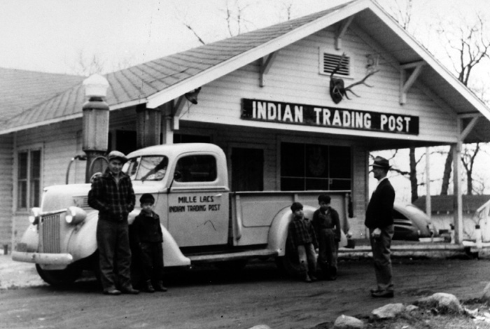 Trading post history.