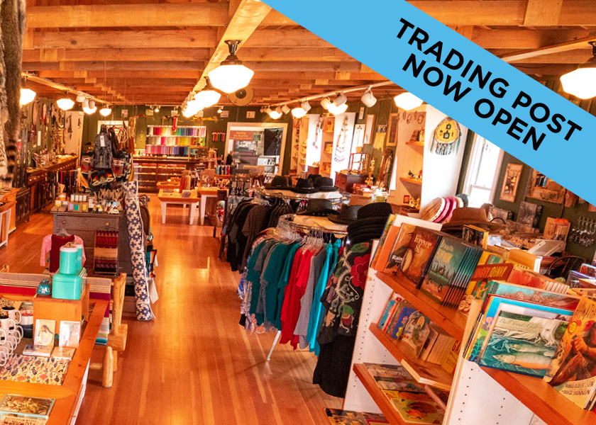 Trading post now open.