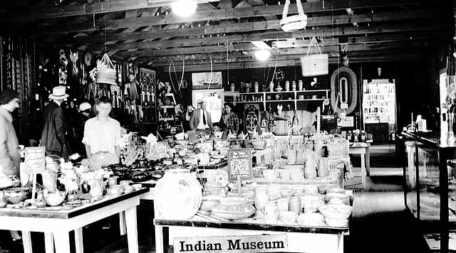 Indian crafts at Mille Lacs Trading Post.