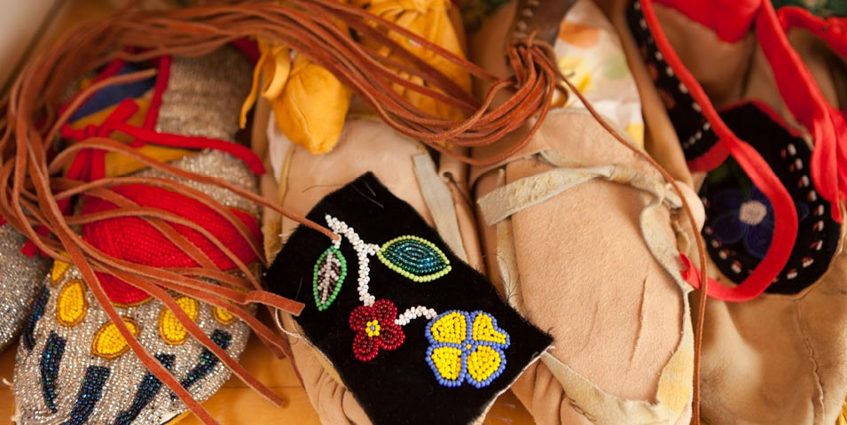 Ojibwe moccasin 2-day workshop.