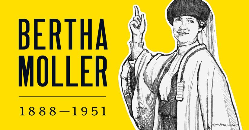 Bertha Moller.