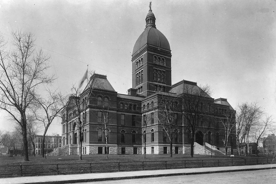 1883 Minnesota State Capitol building