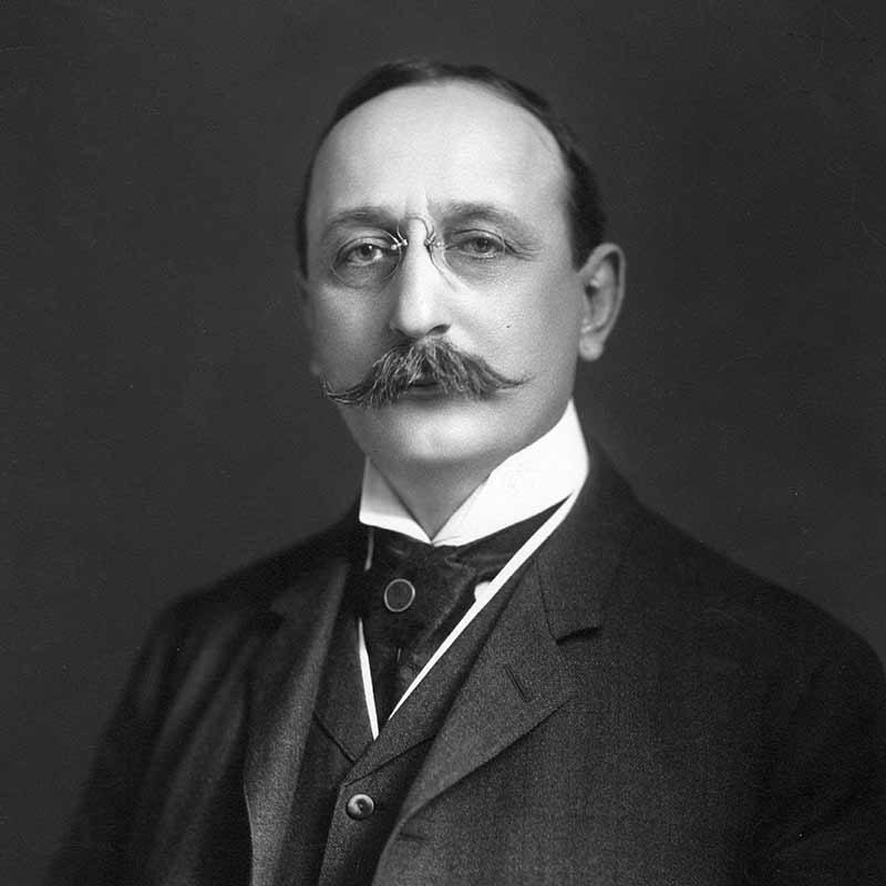 Cass Gilbert 1907.