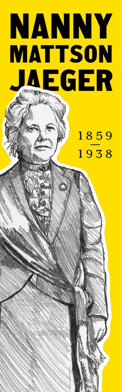 Nanny Mattson Jaeger 1859-1938.