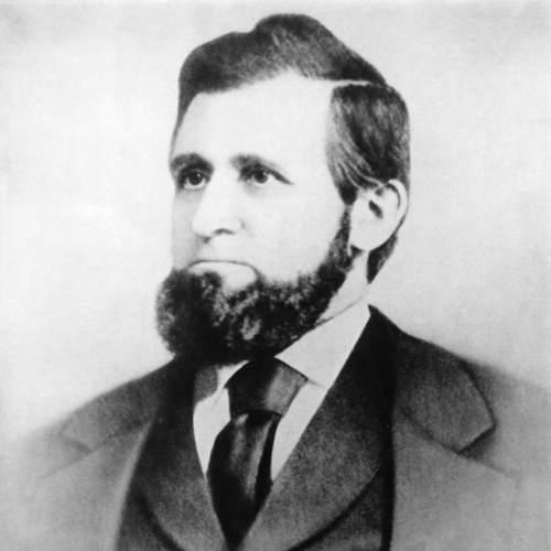 Portrait of Oliver Kelley, facing slightly left