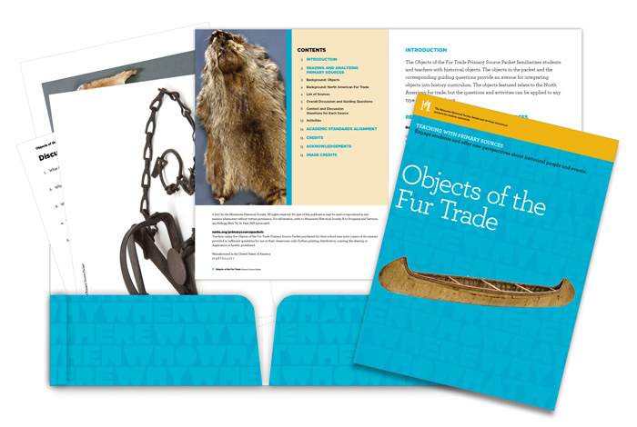 Objects of the Fur Trade.