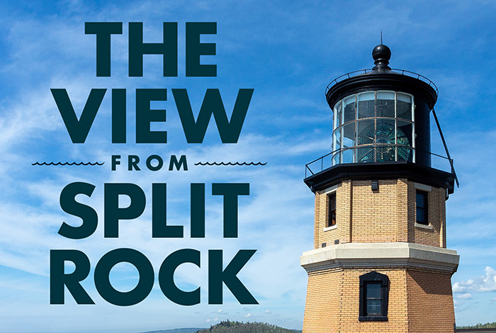 The View from Split Rock book.