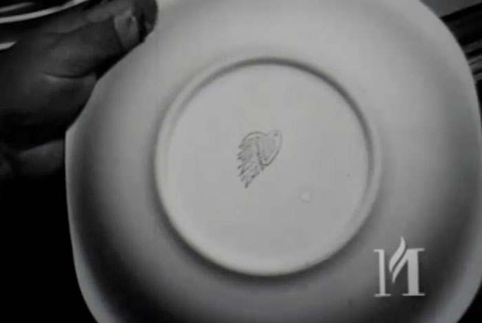That Door Marked Private - Red Wing Pottery, 9/20/1950.