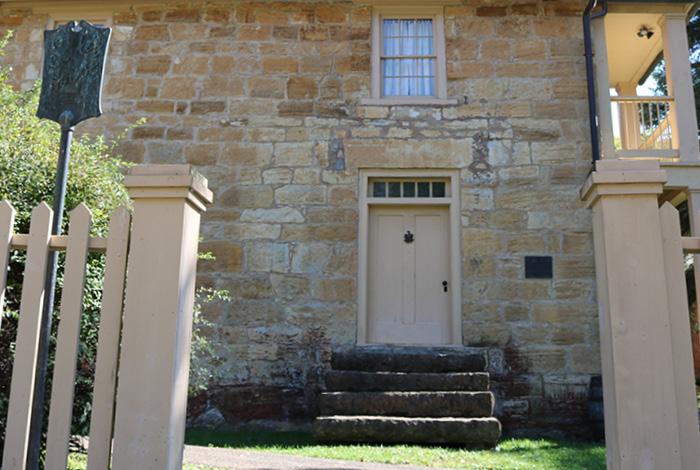 Sibley house restoration.