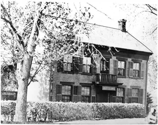 Sibley Tea House, Mendota.