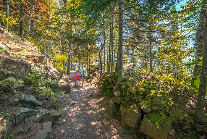 Trail at Split Rock Lighthouse.