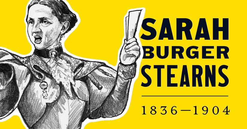 Sarah Burger Stearns.
