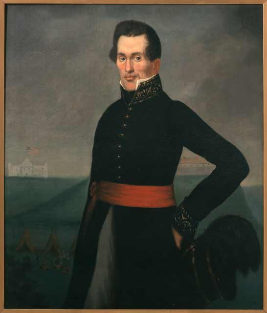 Lawrence Taliaferro, United States Indian Agent at St. Peters, about 1830. Source: MNHS Collections.