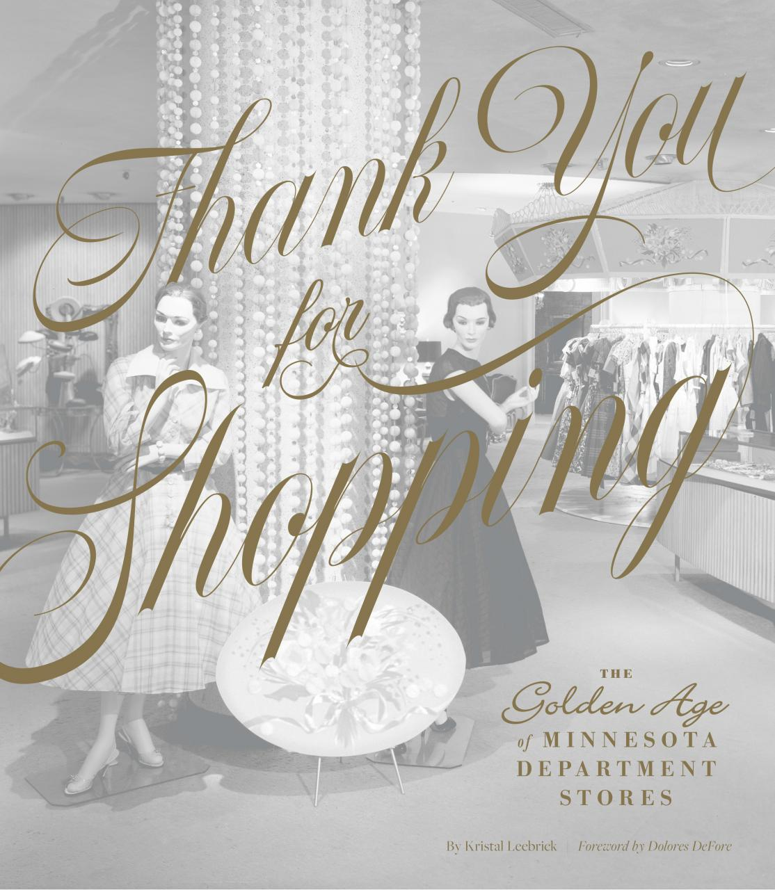 Thank You for Shopping book.