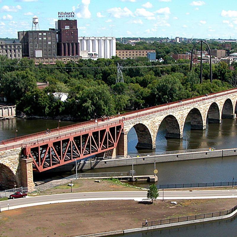 Minneapolis Riverfront Walking Tour. Select a date.