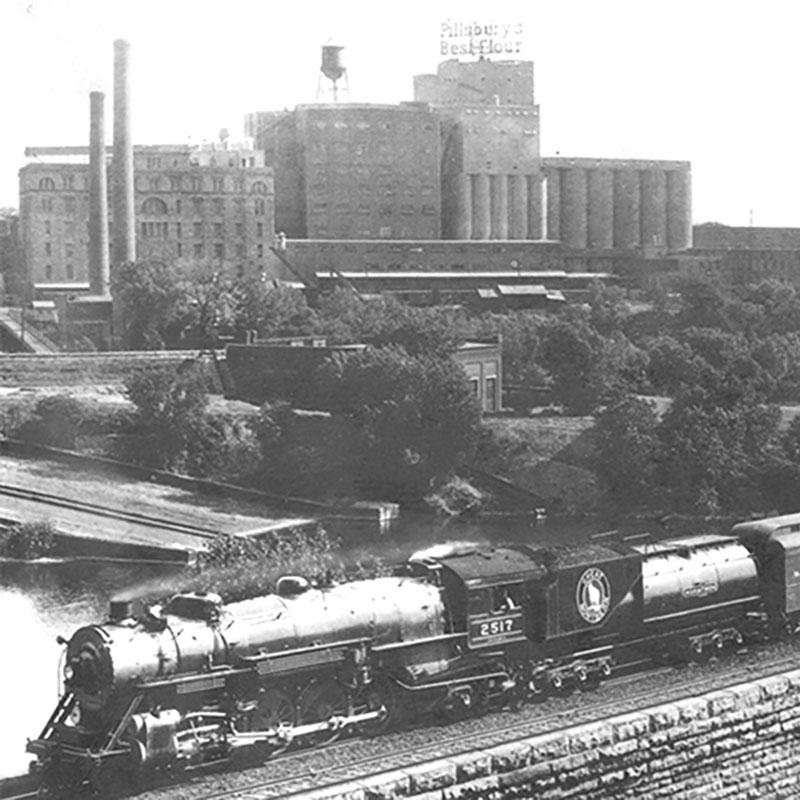 Railroad History Walking Tour. Select a date.