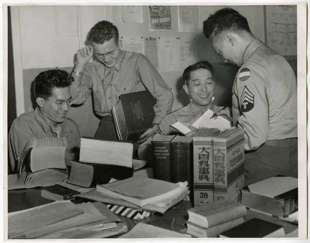 MISLS students, 1945. Source: MNHS Collections.