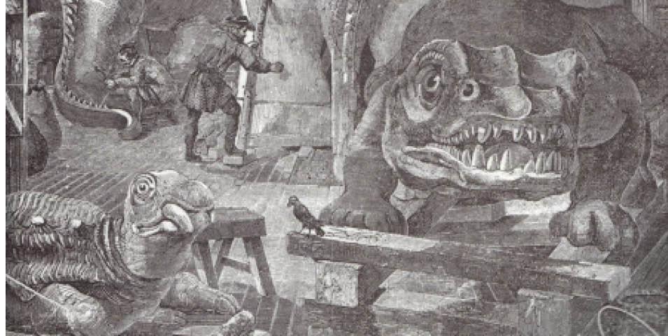 Victorian Paleontology.