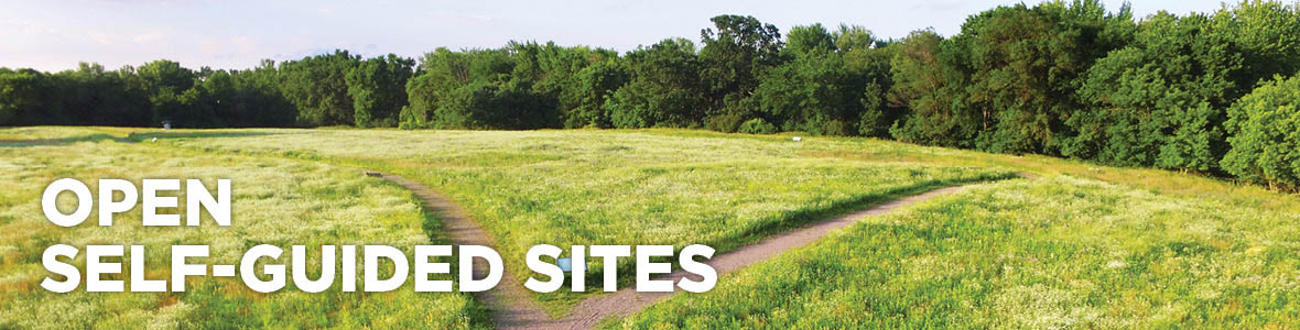 Open self-guided sites