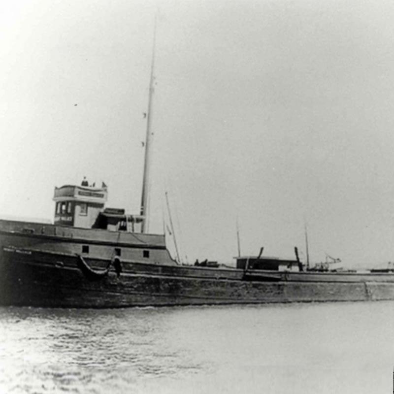 Robert Wallace at sea