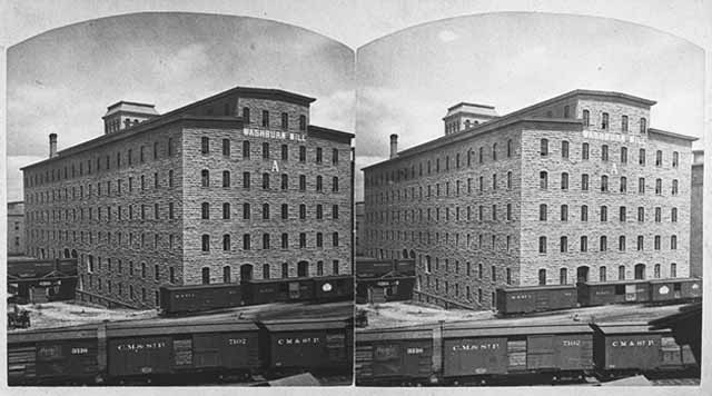Washburn A Mill, 1880. Source: MNHS Collections.