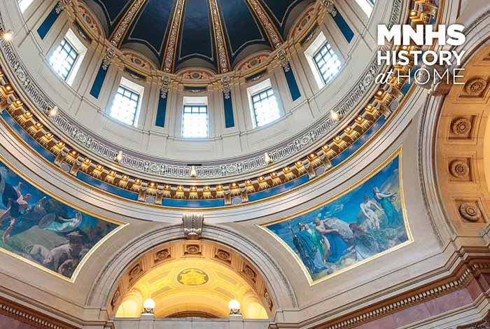 State capitol dome.