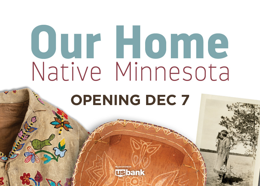 Our home Native Minnesota opening december 7
