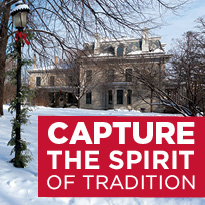 Capture the spirit of tradition