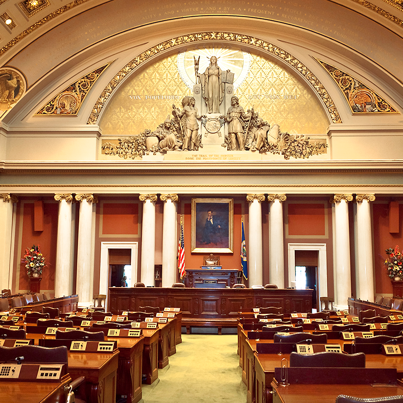 View of the House chamber