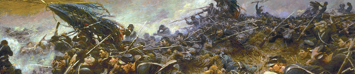 cropped view of The Battle of Nashville