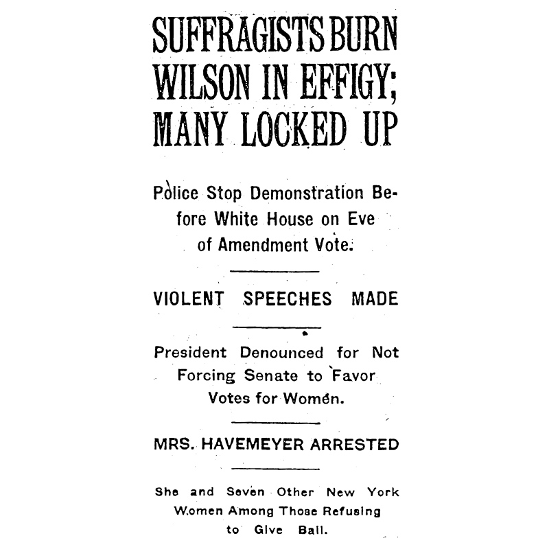 Colvin NYT clipping, 1919.