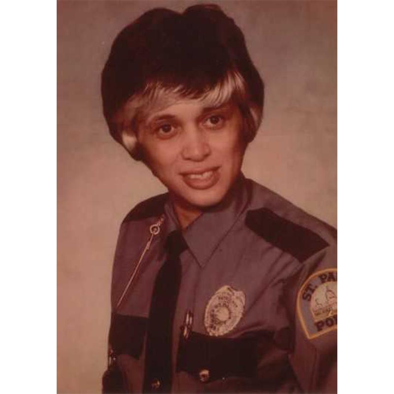 Debbie Montgomery, 1975.