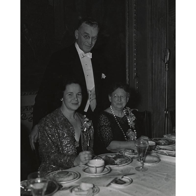 Dinner honoring Gratia Countryman, 1936.