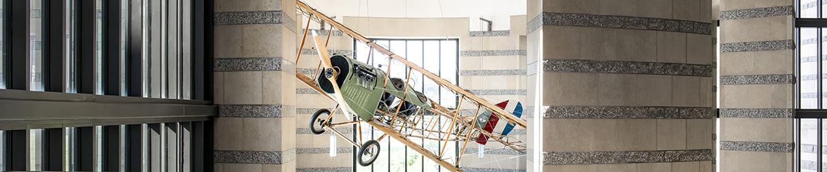 Historic airplane.