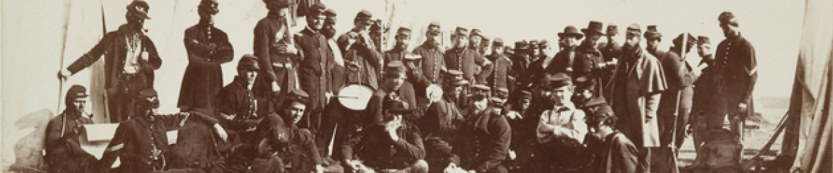 Company E, Eighth Minnesota Volunteer Infantry, Fort Snelling, 1862.