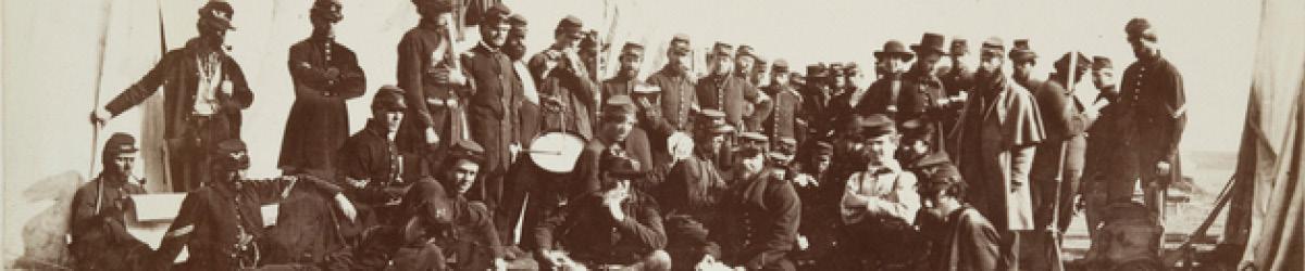 Company E, Eighth Minnesota Volunteer Infantry, Fort Snelling, 1862.