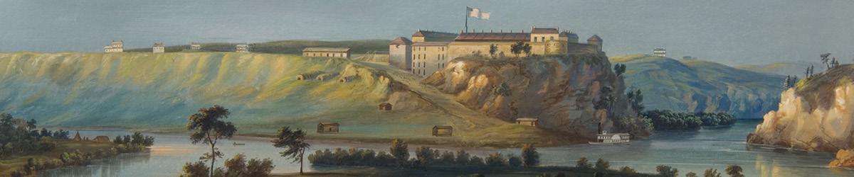 Mississippi River at Fort Snelling.