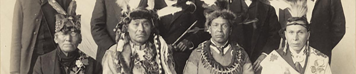 Leech Lake Ojibwe Delegation to Washington.